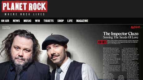 ITW - Planet Rock Magazine by P. Bannigan